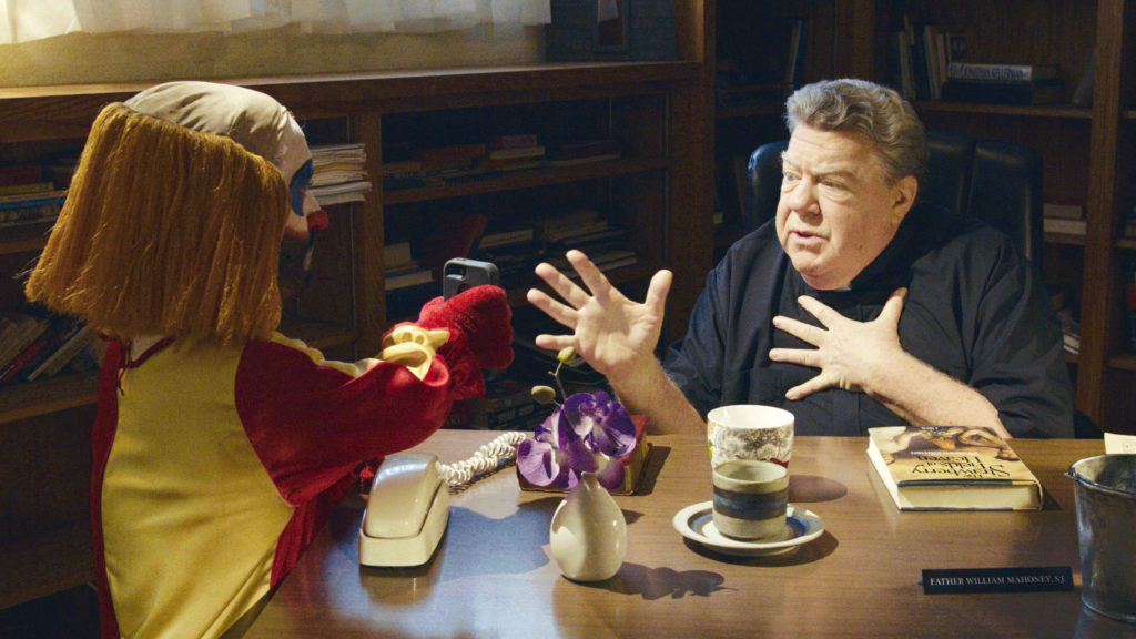 George Wendt (Cheers) as Father Mahoney.